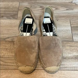 Dolce vita suede cut out espadrille. Never worn